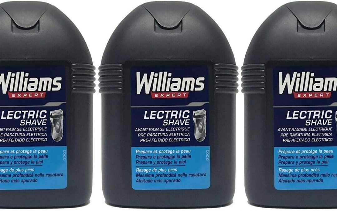 Williams Prima Rasatura Elettrica 100 ML lotto da 3
